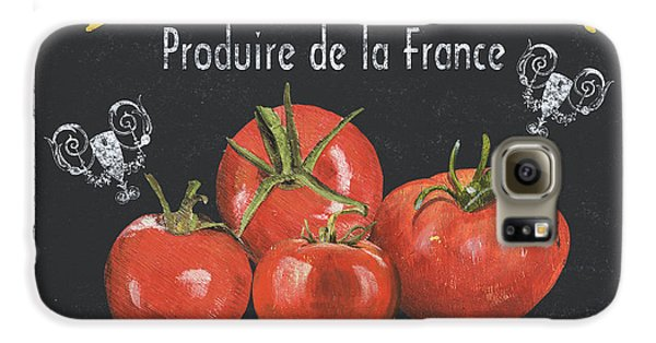 Tomato Galaxy S6 Case - French Vegetables 1 by Debbie DeWitt
