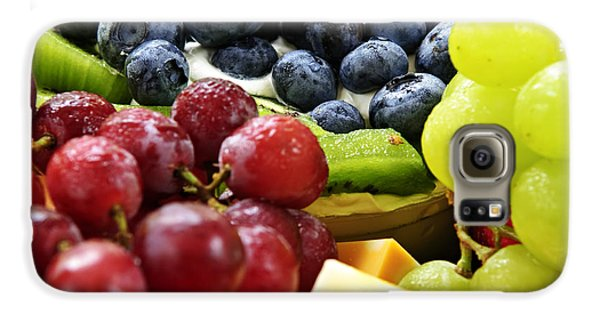 Fresh Fruits And Cheese Galaxy S6 Case