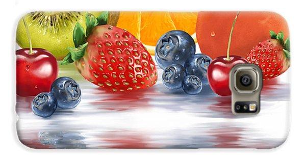 Fresh Fruits Galaxy S6 Case