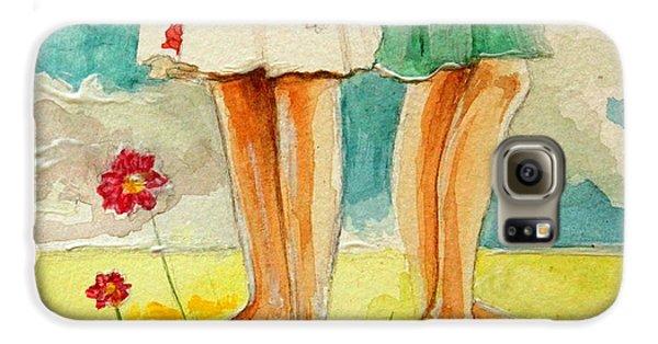 Garden Galaxy S6 Case - Friendship by Elizabeth Robinette Tyndall