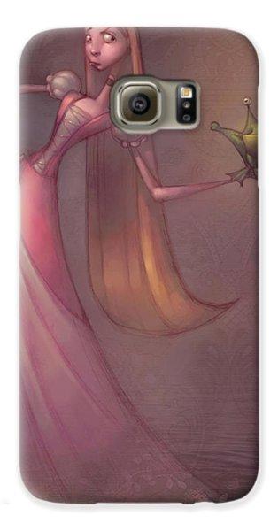 Amphibians Galaxy S6 Case - Frog Prince by Adam Ford