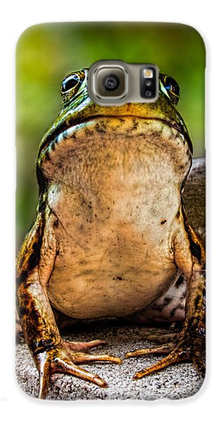 Frog Prince Or So He Thinks Galaxy S6 Case by Bob Orsillo