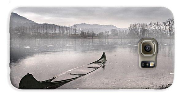 Boat Galaxy S6 Case - Frozen Day by Yuri Santin