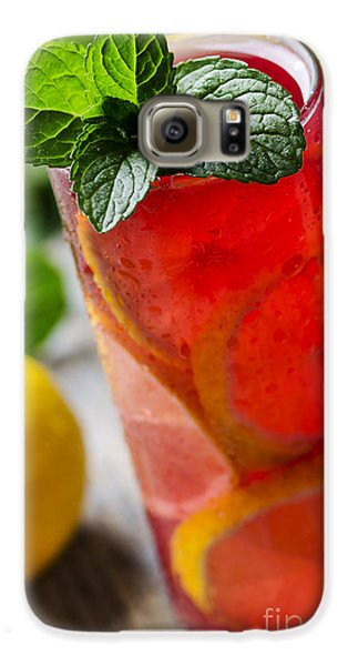 Fruit Cocktail Galaxy S6 Case