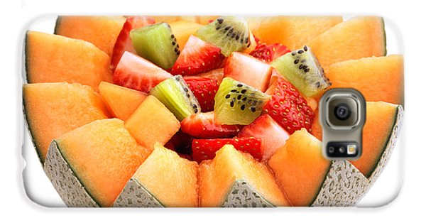 Strawberry Galaxy S6 Case - Fruit Salad by Johan Swanepoel