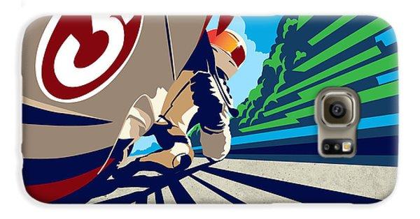 Motorcycle Galaxy S6 Case - Full Throttle by Sassan Filsoof