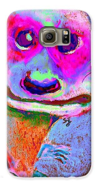 Funky Meerkat Tunnel Art Print Galaxy S6 Case