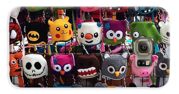 Funny Hats On The Street Galaxy S6 Case