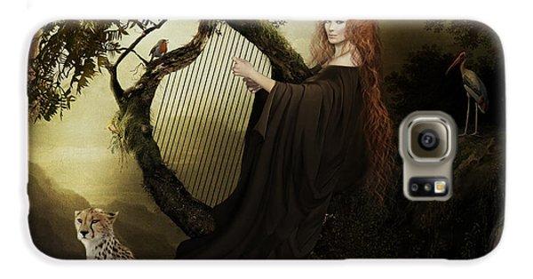 Stork Galaxy S6 Case - Gaia Greek Goddess by Shanina Conway
