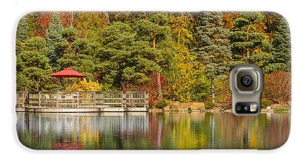 Galaxy S6 Case featuring the photograph Garden Of Reflection by Sebastian Musial