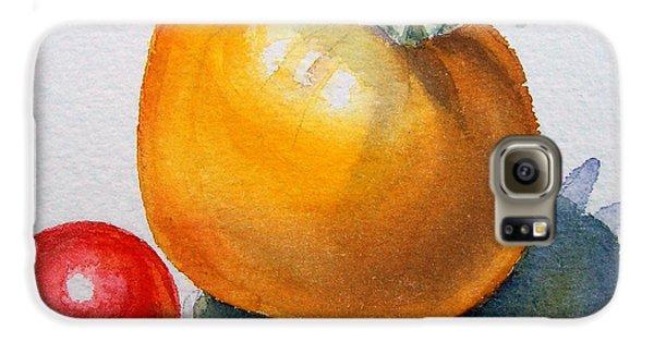 Garden Tomatoes Galaxy S6 Case by Irina Sztukowski
