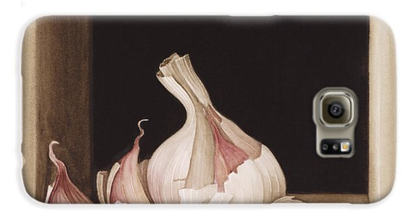 Garlic Galaxy S6 Case by Jenny Barron