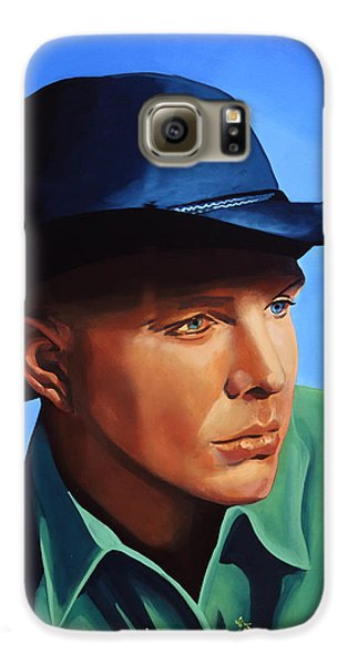 Saxophone Galaxy S6 Case - Garth Brooks by Paul Meijering