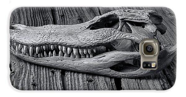 Gator Black And White Galaxy S6 Case