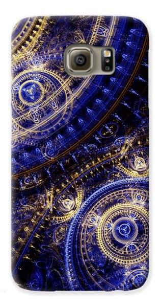 Doctor Galaxy S6 Case - Gears Of Time by Martin Capek