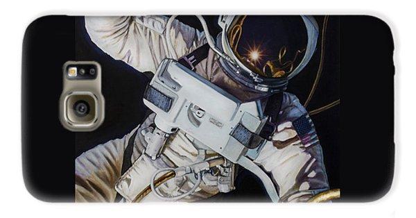 Gemini Iv- Ed White Galaxy S6 Case by Simon Kregar