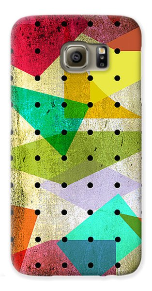 Geometric In Colors  Galaxy S6 Case by Mark Ashkenazi
