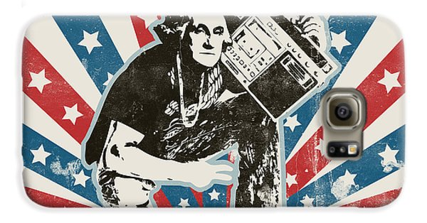 George Washington - Boombox Galaxy S6 Case