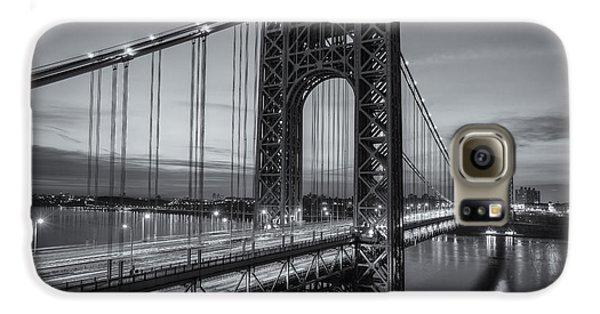 George Washington Bridge Morning Twilight II Galaxy S6 Case