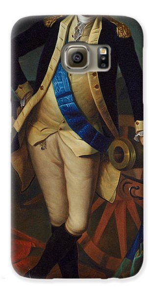 George Washington Galaxy S6 Case by Charles Wilson Peale