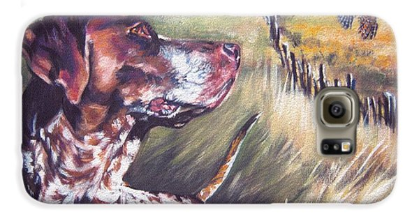 German Shorthaired Pointer And Pheasants Galaxy S6 Case