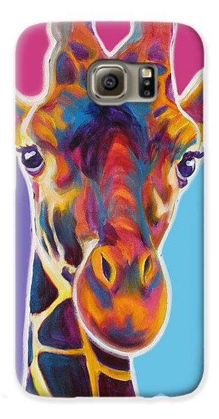 Giraffe - Marius Galaxy S6 Case by Alicia VanNoy Call