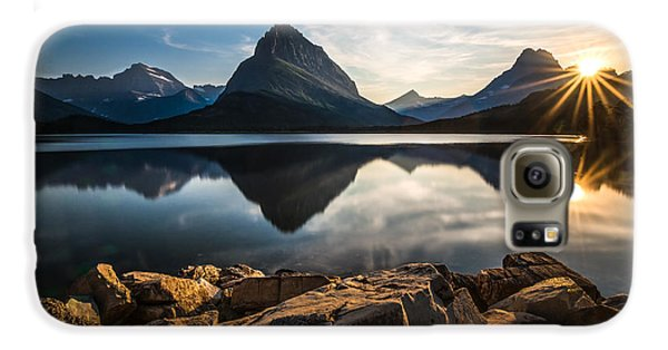 Glacier National Park Galaxy S6 Case by Larry Marshall