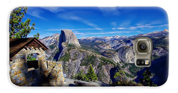 Glacier Point Yosemite National Park Galaxy S6 Case