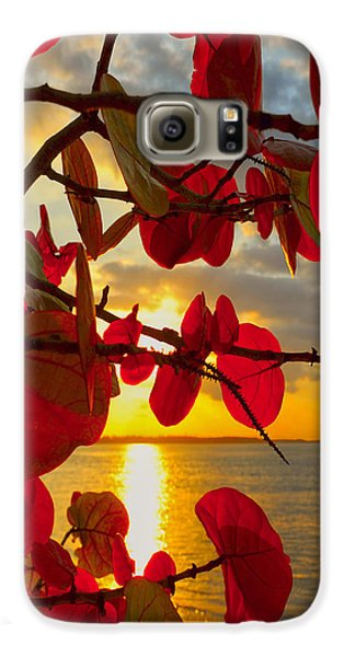 Glowing Red Galaxy S6 Case