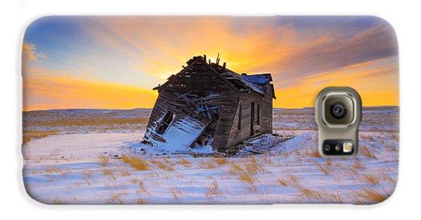 Glowing Winter Galaxy S6 Case by Kadek Susanto