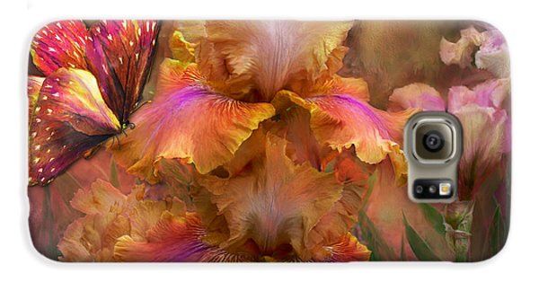 Goddess Of Sunrise Galaxy S6 Case by Carol Cavalaris
