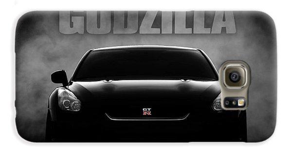 Automobile Galaxy S6 Case - Godzilla by Douglas Pittman