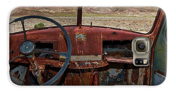 Truck Galaxy S6 Case - Going Nowhere... by Dennis D Croxall