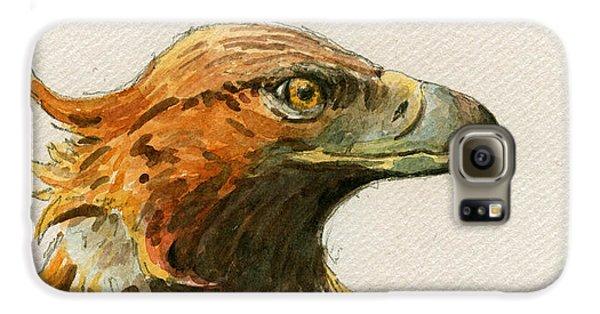 Mice Galaxy S6 Case - Golden Eagle by Juan  Bosco