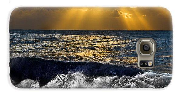 Golden Eye Of The Morning Galaxy S6 Case
