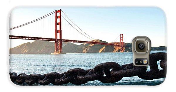 Golden Gate Bridge With Chain Galaxy S6 Case