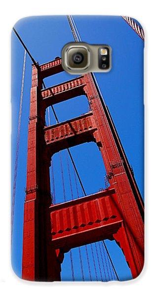 Golden Gate Tower Galaxy S6 Case