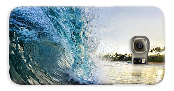 Beach Galaxy S6 Case - Golden Mile by Sean Davey