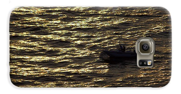 Galaxy S6 Case featuring the photograph Golden Ocean by Miroslava Jurcik