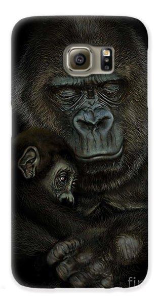 Gorilla Galaxy S6 Case - Gorilla  by Andre Koekemoer