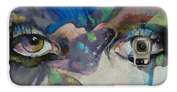 Gothic Butterflies Galaxy S6 Case by Michael Creese