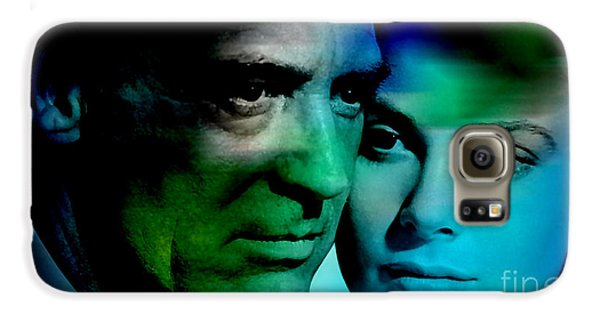 Grace Kelly And Cary Grant Galaxy S6 Case