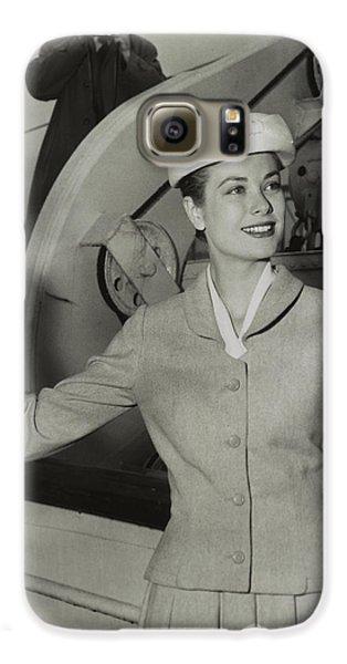 Grace Kelly In 1956 Galaxy S6 Case by Mountain Dreams