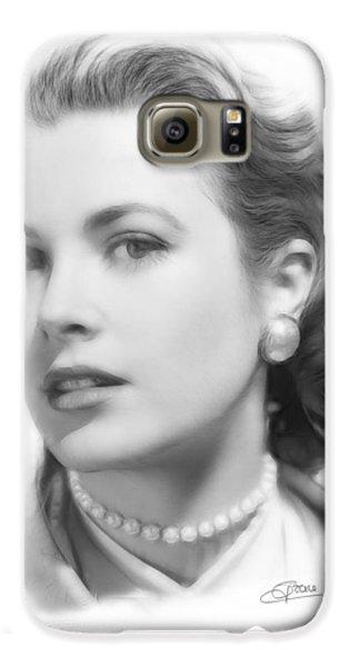 Grace Kelly Pencil Galaxy S6 Case by Steve K