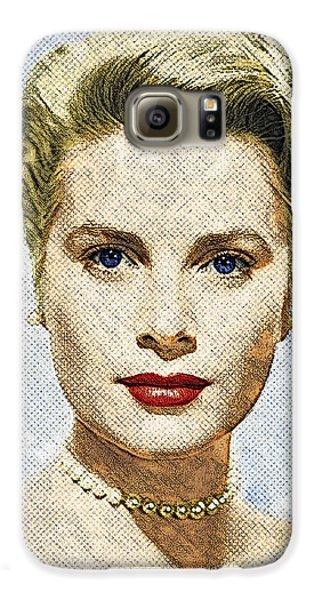 Grace Kelly Galaxy S6 Case by Taylan Apukovska