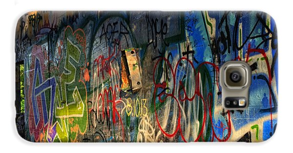 Graffiti Blues Galaxy S6 Case