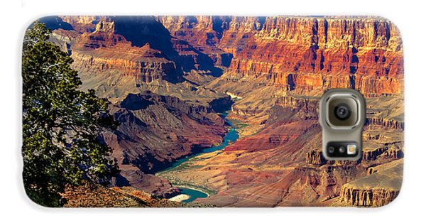 Grand Canyon Sunset Galaxy S6 Case by Robert Bales