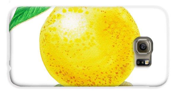 Grapefruit Galaxy S6 Case