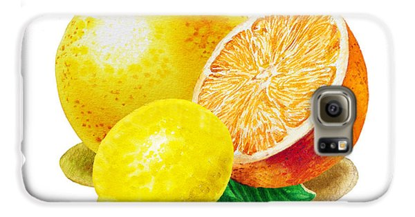 Grapefruit Lemon Orange Galaxy S6 Case