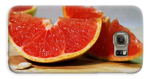 Grapefruit Slices Galaxy S6 Case